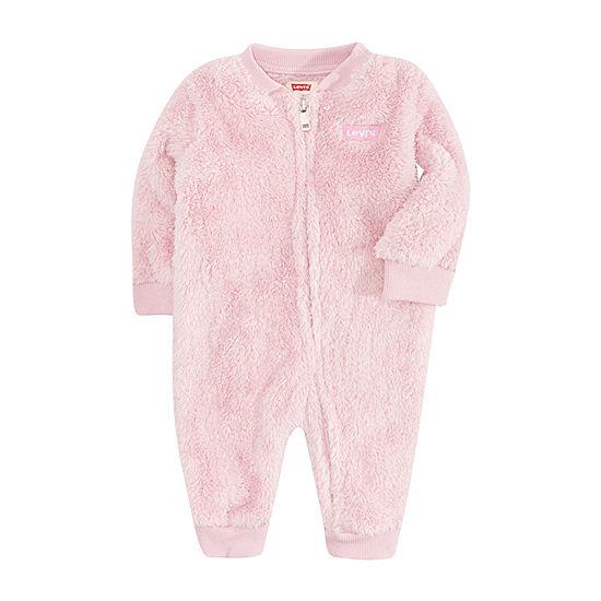 Levi's Baby Girls Long Sleeve Jumpsuit