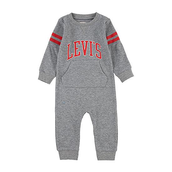 Levi's Baby Boys Long Sleeve Jumpsuit