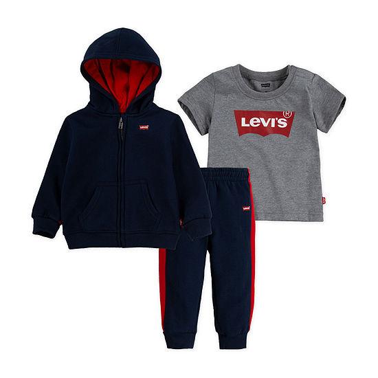 Levi's Baby Boys 3-pc. Pant Set