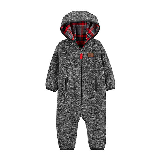 Carter's Baby Boys Long Sleeve Jumpsuit