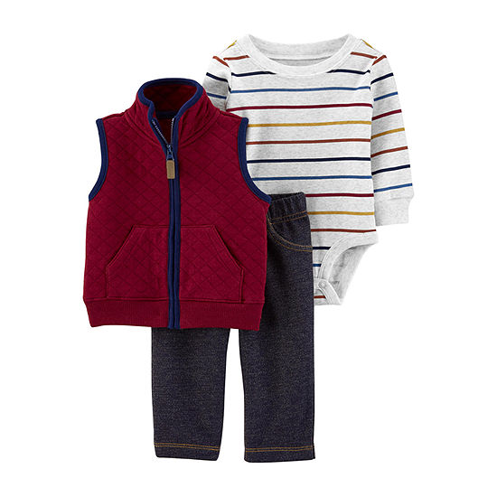 Carter's Baby Boys Pant Set