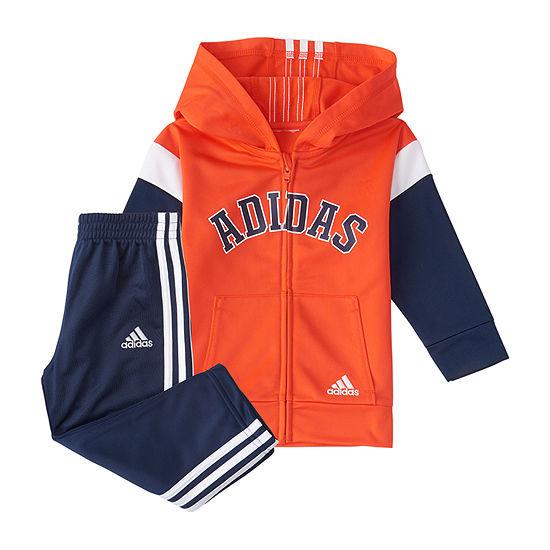 adidas Little Boys 2-pc. Pant Set