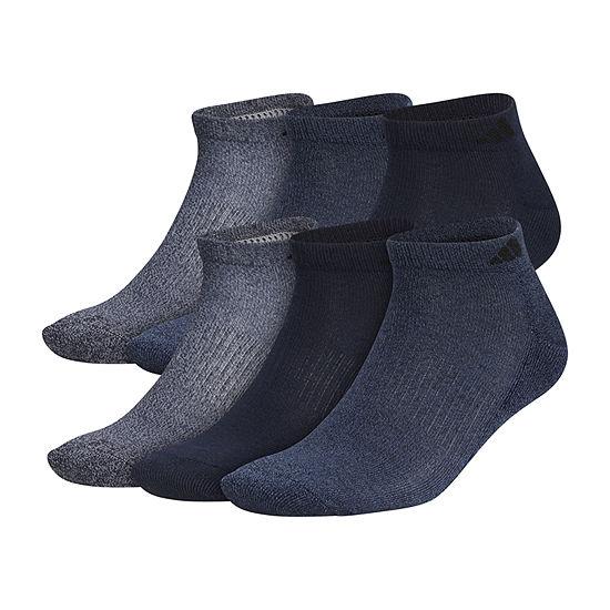 adidas 6 Pair Low Cut Socks-Mens