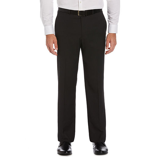 Savane Mens Straight Fit Flat Front Pant