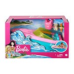 Barbie Boat With Puppy