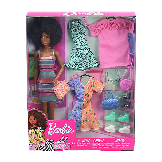 Barbie Doll With Fashions And Accessories