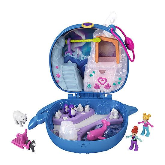 Mattel Polly Pocket™Freezin' Fun Narwhal Compact