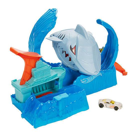 Hot Wheels City Robo Shark Frenzy Playset