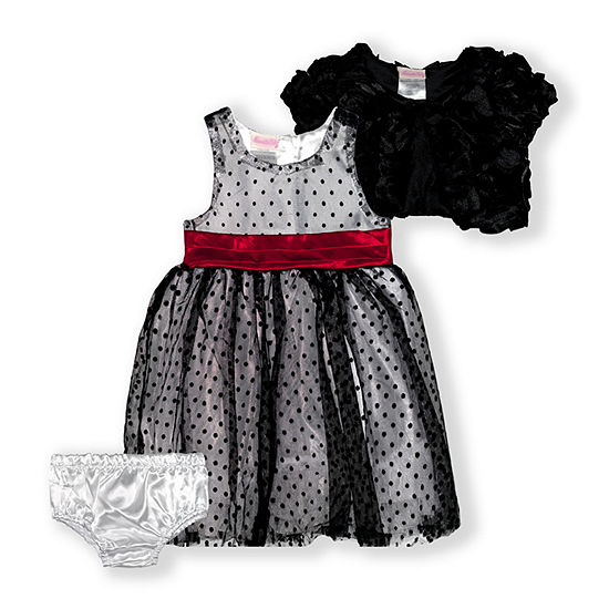 Nannette Baby Baby Girls Sleeveless 2-pc. Dress Set