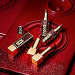 Yves Saint Laurent Rouge Volupte Shine Lipstick Balm Holiday Edition