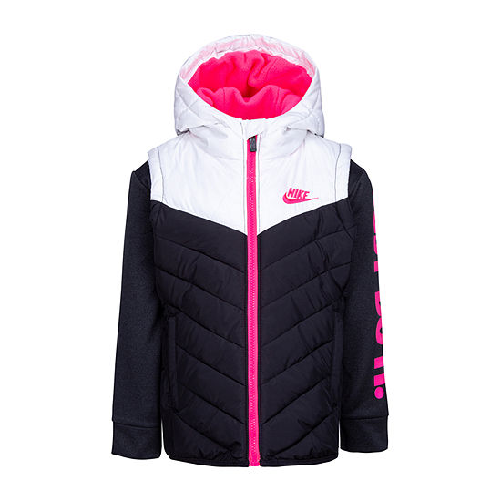 Nike Little Girls Midweight Puffer Jacket