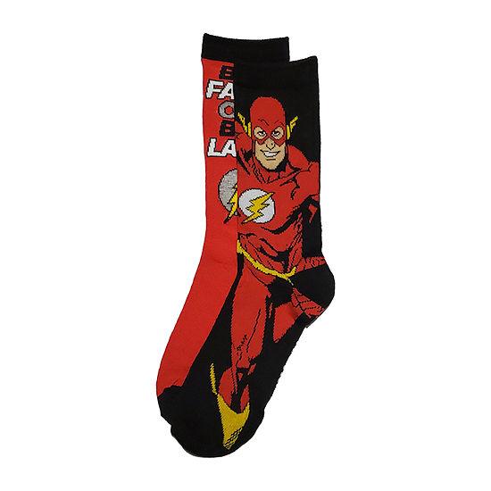 The Flash Mens 2 Pair Crew Socks