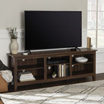 Walker Edison Simple Rustic TV Stand