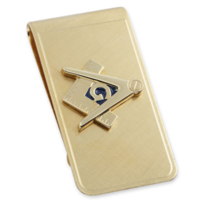 Masonic Emblem Money Clip