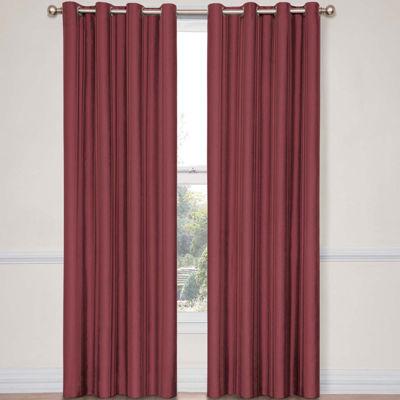 Eclipse® Handel Stripe Grommet-Top Blackout Curtain Panel