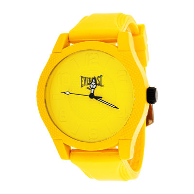 Everlast Mens Yellow Bracelet Watch