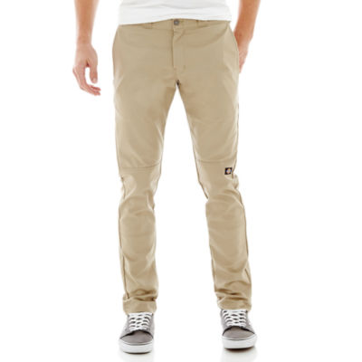 Dickies® Skinny Fit Straight Leg Double Knee Workpant