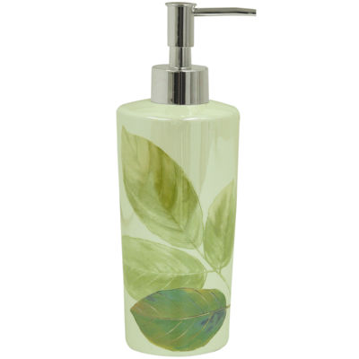 Bacova Waterfall Leaves Soap Dispenser
