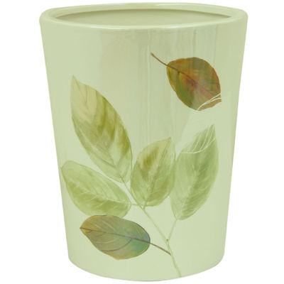 Bacova Waterfall Leaves Wastebasket