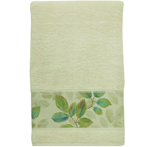 Bacova Waterfall Leaves Bath Towel