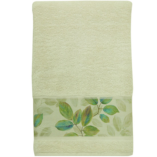 Bacova Waterfall Leaves Bath Towel