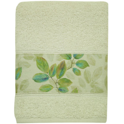 Bacova Waterfall Leaves Hand Towel