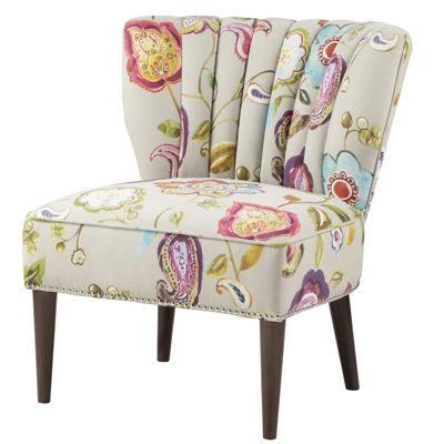 Madison Park Abigail Wingback Slipper Chair