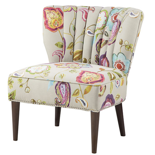 Madison Park Abigail Wingback Slipper Chair