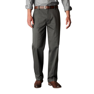 Dockers Straight Fit Flat Front Pant