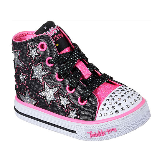 eafec382908 Skechers Twinkle Toes Shuffles Rock Girls Sneakers - Toddler - JCPenney