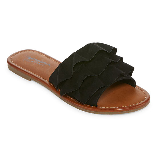 arizona womens giaa flat sandals jcpenney