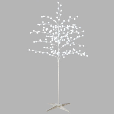 Midwest Cannon Falls Led Pompom Tabletop Tree