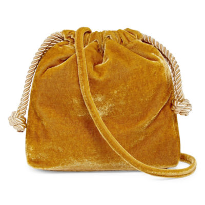 Tracee Ellis Ross for JCP Velour Drawstring Pouch