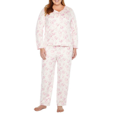 Adonna Microfleece Pant Pajama Set - Plus