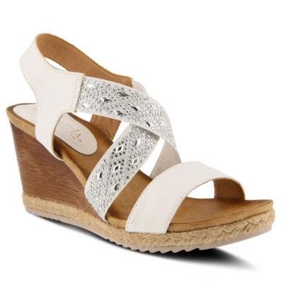 Patrizia Luminate Womens Wedge Sandals