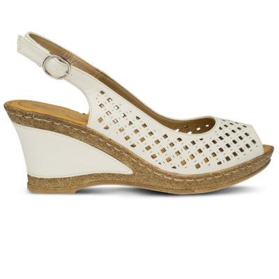 Patrizia Womens Candace Wedge Sandals