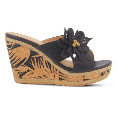 Patrizia Roselani Womens Wedge Sandals