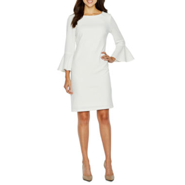 Liz Claiborne 3/4 Sleeve Sheath Dress