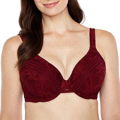 Ambrielle Lace Underwire Full Coverage Bra