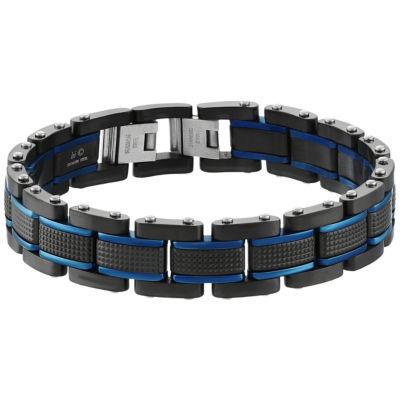 Sterling Silver 9 1/4 Inch Solid Link Link Bracelet