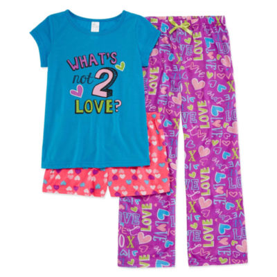 3-pc. Pant Pajama Set Girls