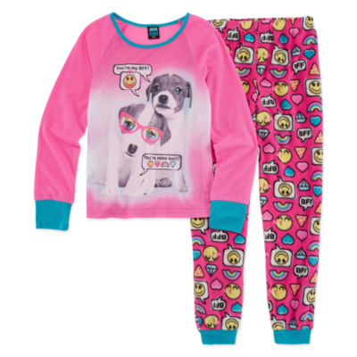 Jelli Fish Kids 2-pack Pant Pajama Set Girls