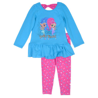 Shimmer and Shine 2-pc. Pant Set Girls