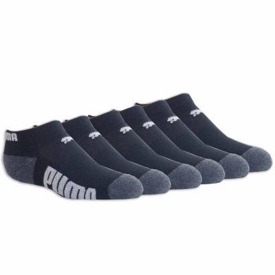 Puma 6 Pair Low Cut Socks