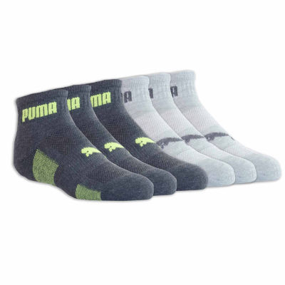 Puma 6 Pair Quarter Socks