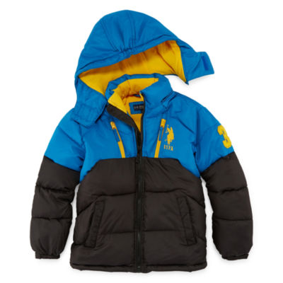 Us Polo Assn. Heavyweight Puffer Jacket - Boys-Big Kid
