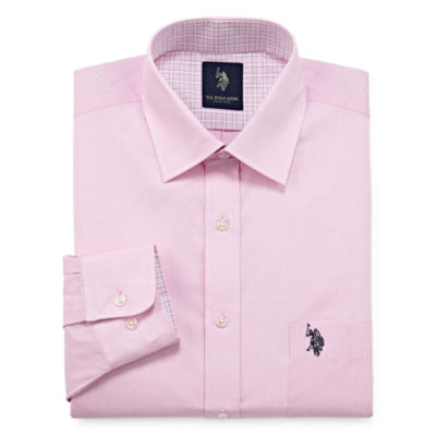 U.S. Polo Assn. Long Sleeve Chambray Dress Shirt - Slim