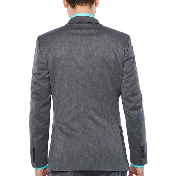 JF J.Ferrar Pin Dot Classic Fit Suit Jacket