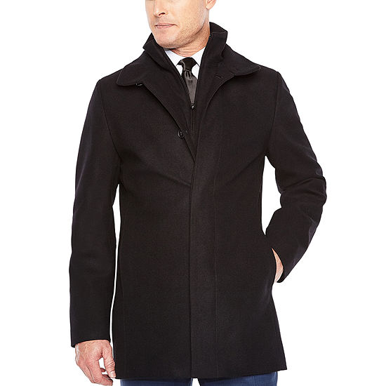 JF J.Ferrar Water Resistant Heavyweight Topcoat