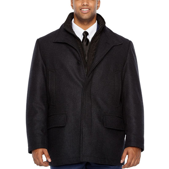 Collection by Michael Strahan  Woven Topcoat-Big and Tall